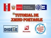 Tutorial de xmind portable