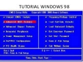 Tutorial windows 98