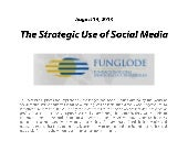 The Strategic Use of Social Media: ...