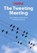 Tweeting meeting sample