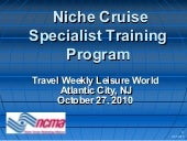 Niche Cruise Marketing Alliance: NI...