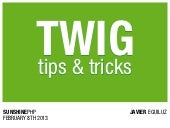 Twig tips and tricks