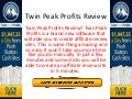Twin peak profits review