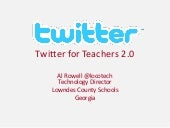 Twitter for Teachers 2.0