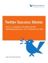 Twitter Real Success Stories