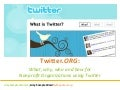 Twitter.Org: Twitter for Nonprofit Organizations