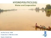 Hydropolitics TWM Global2010 (III)