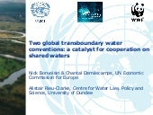 Two global transboundary water conv...