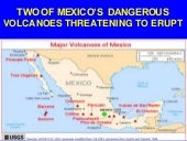 Two Of Mexico's Dangerous Volcanoes Are Threatening To Erupt