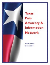 TxPAIN 2008 Annual Report
