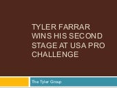 Tyler farrar wins his second stage ...