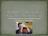 My Journey to the World Championship in PowerPoint
