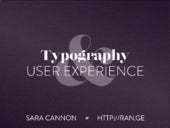 Typography and User Experience in Web Design