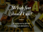 A Typography Primer for Non-designers