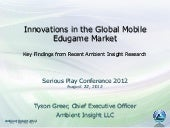 """Innovations in the Global Mobile ..."