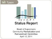 Tysons Status Report: Board of Supe...