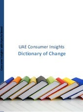 Consumer Insight: UAE dictionary of...