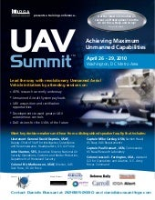 UAV Summit 2010