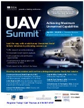 Uav Summit 2010 Agenda