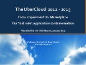 UberCloud: From Experiment to Marketplace