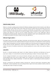 Ubuntu Workshop Kit - Study Material