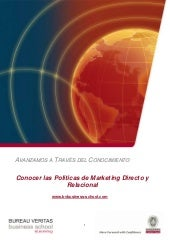 Marketing directo y relacional