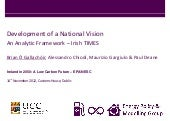 Development of a National Vision - ...