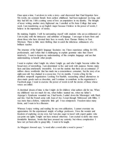 uc essay examples