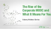 The Rise of the Corporate MOOC and ...