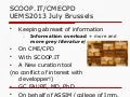 UEMS EACCME 2013 Scoopit cme/cpd