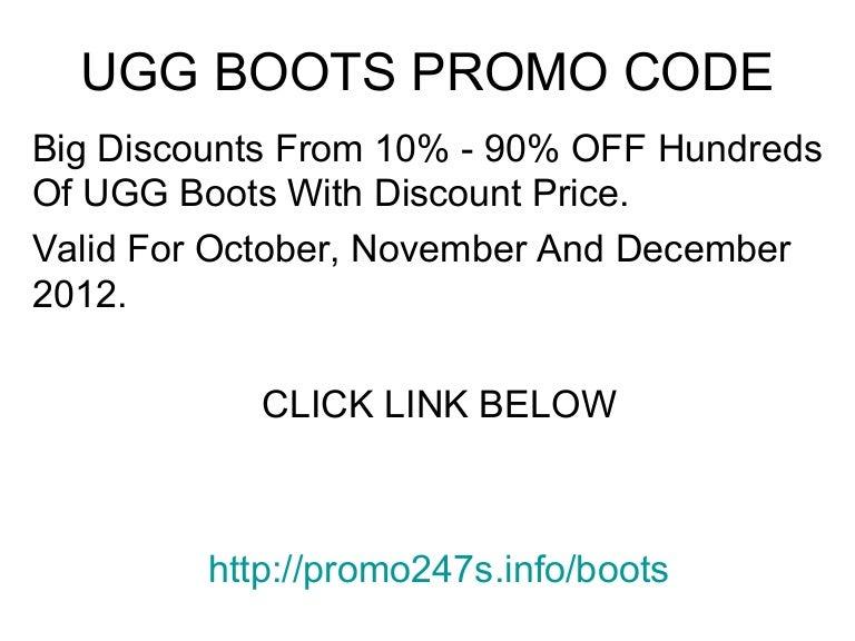 ugg boots voucher