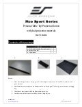 Ug pico sport_series Projection Screen