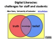 Digital Literacies:challenges for ...