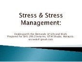 Uhs 2062 Stress Management