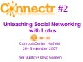 UK Lotus User Group - Connectr Presentation
