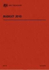 Budget 2010 (HM Treasury)