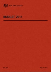 Budget 2011 (HM Treasury)
