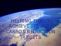 UK Carbon Reduction Strategy