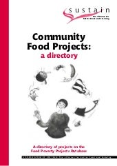 Community Poverty  Food Projects Di...