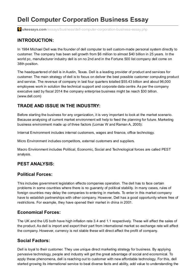 technology and business opportunities essay Business opportunity has a significantly different meaning to a business idea in the sense that an idea will not necessarily have the possibility of a positive outcome while an opportunity is an idea that can be executed, showing promise of developing into a successful business.
