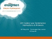 UK Cookie Law Compliance: Implicat...