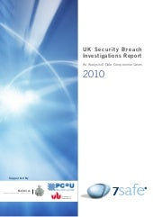 Uk Security Breach Investigations R...