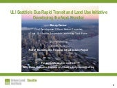 ULI Seattle's Bus Rapid Transit and...