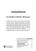 [DE] Compliance | Documentum Whitepaper | Ulrich Kampffmeyer | Hamburg 2014