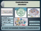 Umang pharmaceutical packaging..b.k...