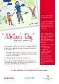UNAIDS Mother's Day 2014 event in Geneva
