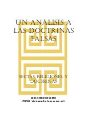 Un Analisis Doctrinas Falsas