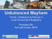 Unbalanced Mayhem: Trends, Challeng...