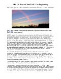 UN Ban on ChemTrail / Geo Engineering 2010