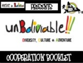 Unboliviable! cooperation booklet...